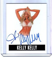 Kelly Kelly KK1 2014 Leaf Originals Wrestling Authentic On Card Autograph WWE