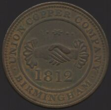 More details for 1812 union copper company birmingham penny token   pennies2pounds