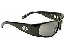 Black Flys Micro Fly 2 Shiny Black Frame / Grey Lens Sunglasses 013189800590
