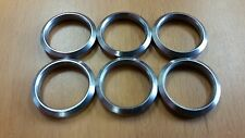 "7.62 x 51 .308  Stainless Steel Crush Washer 5/8"" 24 TPI 6 Pack made USA!"