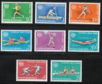 Romania 1988 MNH Mi 4475-4482 Sc 3525-3532 Seoul Olympic Games **