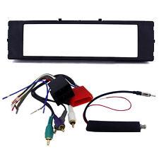 Radio Replacement Dash Kit 1-Din w/Amp Harness & Antenna for Audi TT