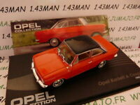 OPE53R voiture 1/43 IXO eagle moss OPEL collection : Kadett A coupé 1962/1965