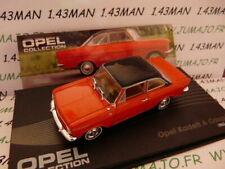 OPE53R voiture 1/43 IXO eagle moss OPEL collection : Kadett A coupé 1962/1965
