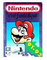Catalogue publicitaire Nintendo NES 1991 1992 91-92 PAL FRA