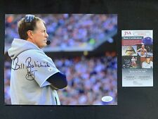 BILL BELICHICK Autographed NEW ENGLAND PATRIOTS 8x10 w/JSA AUTHENTICATION