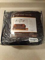 RHF Velvet-Sofa Slipcover, Stretch Couch Covers for 3 Cushion (Dark Grey-Sofa)
