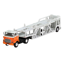 Tomica LV-N89d Limited Vintage Neo - Hino HE366 Car Transporter Truck 1/64
