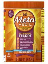Metamucil 4-in-1 MultiHealth Sugar-Free Fiber Supplement Powder, Orange 6.1oz.2B