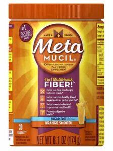 /Metamucil 4-in-1 MultiHealth Sugar-Free Fiber Supplement Powder, 6.1Oz