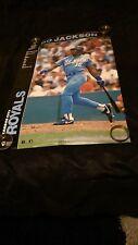 vtg baseball mlb kansas city royals Bo Jackson raiders starline costacos poster
