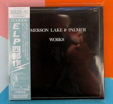 Emerson Lake & Palmer ,  Works Vol. 1 ( 2-CD_K2HD Mastering_Japan )