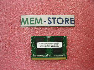 2GB DDR2 MicroDimm Memory Fujitsu Lifebook P1630