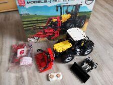 Mould King 17019 Traktor in gelb Technik Bausatz 2596 Teile