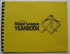 1992 Major League Yearbook (Baseball Guide by Baseball Blue Book)
