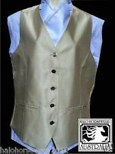 **Adult Show Riding Vest with matching pre-tied stock** Size XL