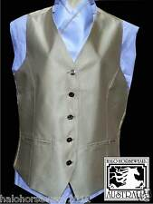 **Adult Show Riding Vest with matching pre-tied stock** Size Small