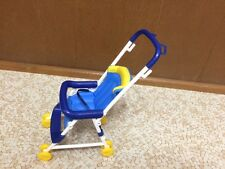 Barbie Doll Happy Family Pregnant Midge Son's Ryan Baby Toddler Blue Stroller