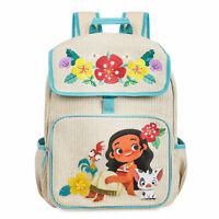 Official Disney Store Moana School Backpack School Bag Rucksack Hei Hei Pua