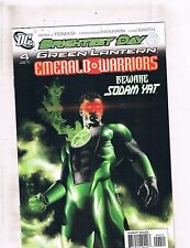 Lot of 5 Green Lantern Emerald Warriors DC Comic Books #4 5 6 12 13 MS19