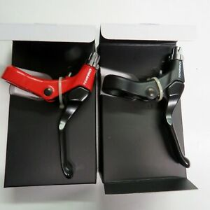 BMX Bicycle Racing Brake Lever Tektro Linear Pull Right Rear Black or Red 311AG