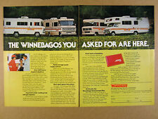 1976 Winnebago RV Motorhomes 4 Models photo brave minnie vintage print Ad