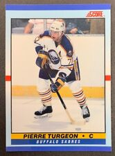 1990-91 Score Young Superstars - #1 Pierre Turgeon - Buffalo Sabres