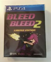 Bleed + Bleed 2 Limited Edition | PlayStation 4 PS4 | New Sealed