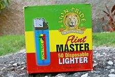 DISPOSABLE LIGHTER x50 LION PRIDE FULL SIZE LIGHTERS