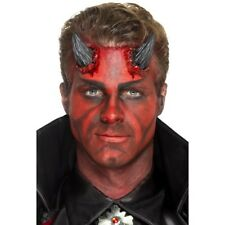 Latex Realistic Devil Horn Prosthetics Adults Halloween Devils Outfit Accessory