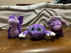 Neopets Keyquest Purple Plush Lot without tags