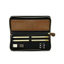 Gentlemen's Hardware - Pencil Case Set in Charcoal Grey Zip Around Case