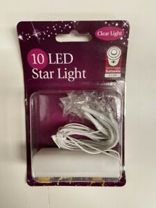 10 x LED Star Lights - Brand New Still Sealed
