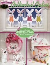 Cottontail Cuties, Bunny Rabbit Easter Projects plastic canvas pattern book NEW