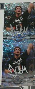 Frank Mir Signed 2013 Topps Finest UFC Refractors Card #92 Autograph 100 81 119