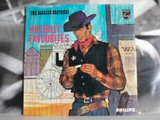 BARRIER BROTHERS - HILLBILLY FAVOURITES LP PHILIPS MONO