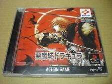 PS1 Castlevania Chronicle Akumajo Dracula Japan PS PlayStation 1 F/S