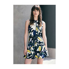 BNWT CUE Floral Crepe Flare Hem Dress Sz 14 RRP$249 last!