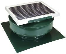 Active Ventilation Exhaust Attic Fan 365 CFM 5 Watt Solar-Powered Roof-Mounted