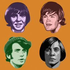 The Monkees/No Country for Old Men Pop Art Ltd. Ed. Signed Print by John Lathrop