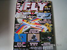 **a Fly International Magazine n°54 Plan du Stratovarius / Giles G 202 FAI