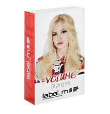 LABEL.M VOLUME STYLING KIT PROTEIN SPRAY VOLUME MOUSSE AND LARGE HOT BRUSH