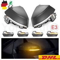 2x LED Auto Dynamische Laufblinker Spiegel Blinker Für VW Polo MK5 6R 6C 09-2017