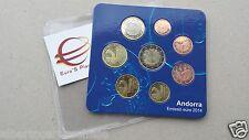 2014 ANDORRA 8 monete 3,88 EURO andorre starterkit ufficiale андорра アンドラ 安道爾