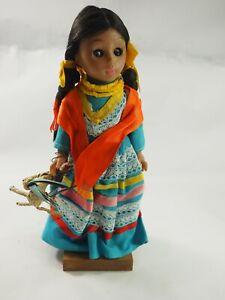 "Nice handmade Mexican 10"" Souvenir Doll 1979"