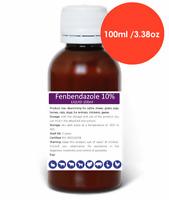 100-500ml Fenbendazole 10% Liquid Suspension Dewormer Panacur Safe Guard Dog