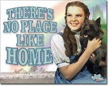 Wizard of Oz No Place Like Home Classic Dorthy Movie Wall Decor Metal Tin Sign