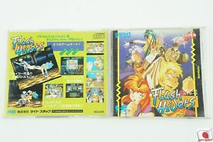 Flash Hiders CD-ROM Right Stuff NEC PC Engine From Japan