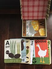 Alphabet Animals Illustrated Flash Cards by Lisa DeJohn