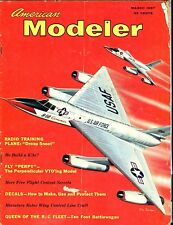 American Modeler Magazine March 1957 Battlewagon GD No ML 040517nonjhe